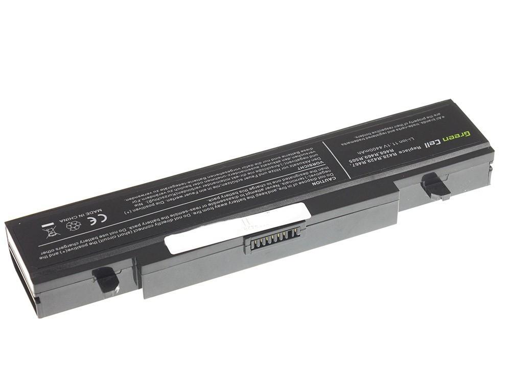 Green Cell Battery for Samsung R519 R522 R530 R540 R580 R620 R719 R780 (black) / 11,1V 4400mAh