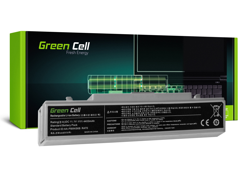 Green Cell SA01B Baterie Samsung RV511 R519 R522 R530 R540 R580 R620 R719 R780 White 4400mAh Li-Ion - neoriginální