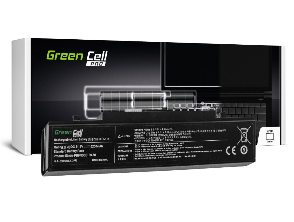 Green Cell PRO akku Samsung R519 R522 R530 R540 R580 R620 R719 R780 (fekete) / 11,1V 5200mAh