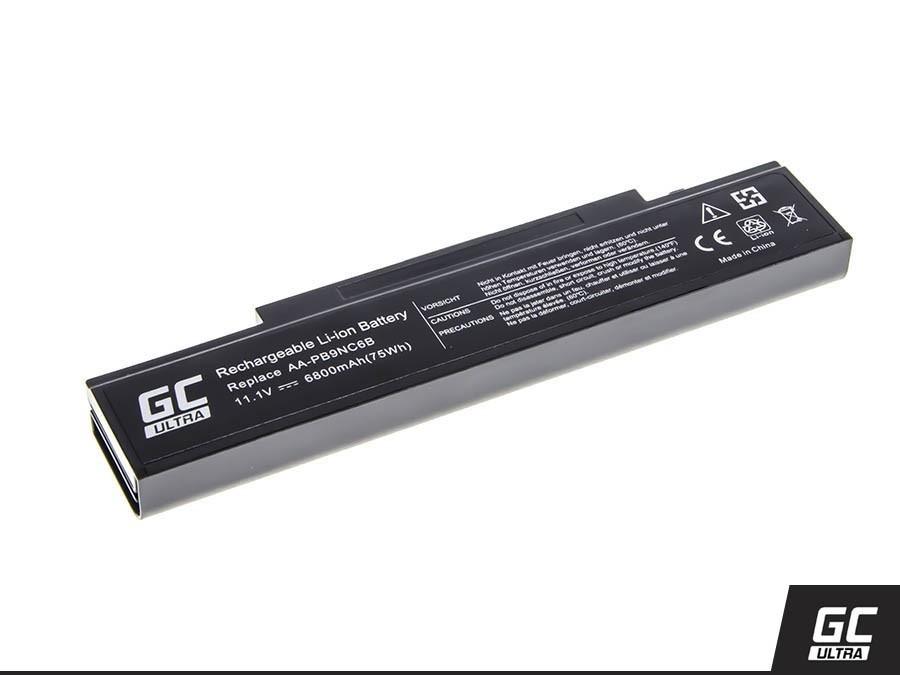 Green Cell SA01ULTRA Baterie Samsung AA-PB9NC6B Samsung R519, R522, R530, R540, R580, R620 6800mAh Li-Ion - neoriginální