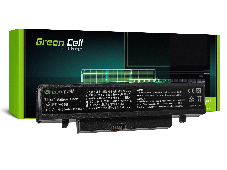 Green Cell SA03 Baterie Samsung Q328 Q330 N210 N220 NB30 X418 X420 X520 4400mAh Li-Ion - neoriginální