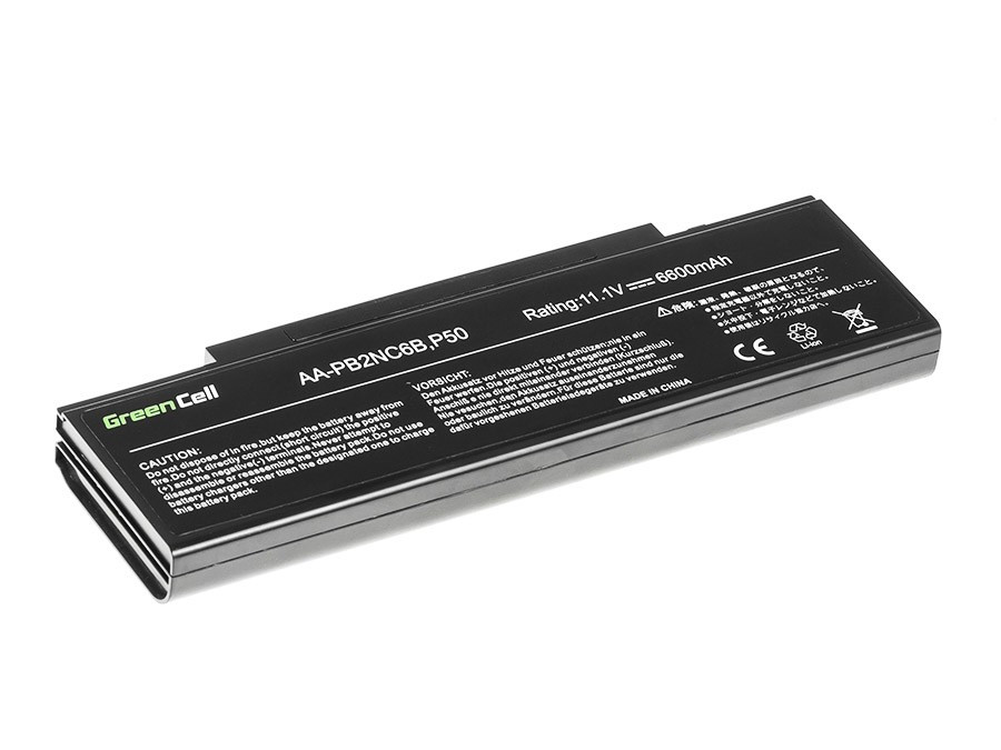 Green Cell Battery for Samsung NP-P500 NP-R505 NP-R610 NP-SA11 NP-R510 NP-R700 NP-R560 NP-R509 / 11,1V 6600mAh