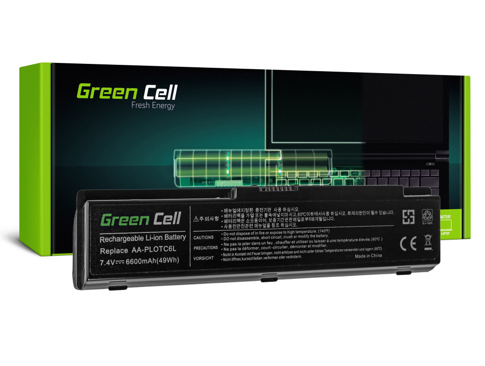 Green Cell akku Samsung N310 NC310 X120 X170 / 7,4V 6600mAh