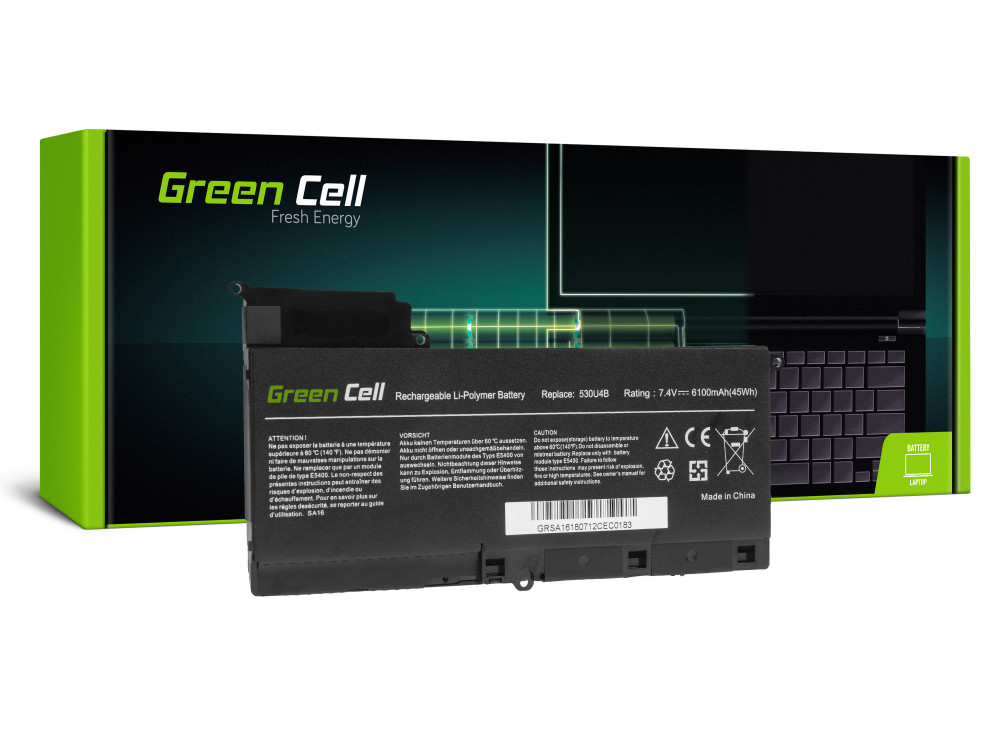 Green Cell akkumulátor Samsung 530U4B AA-PBYN8AB / 7,4V 6120mAh