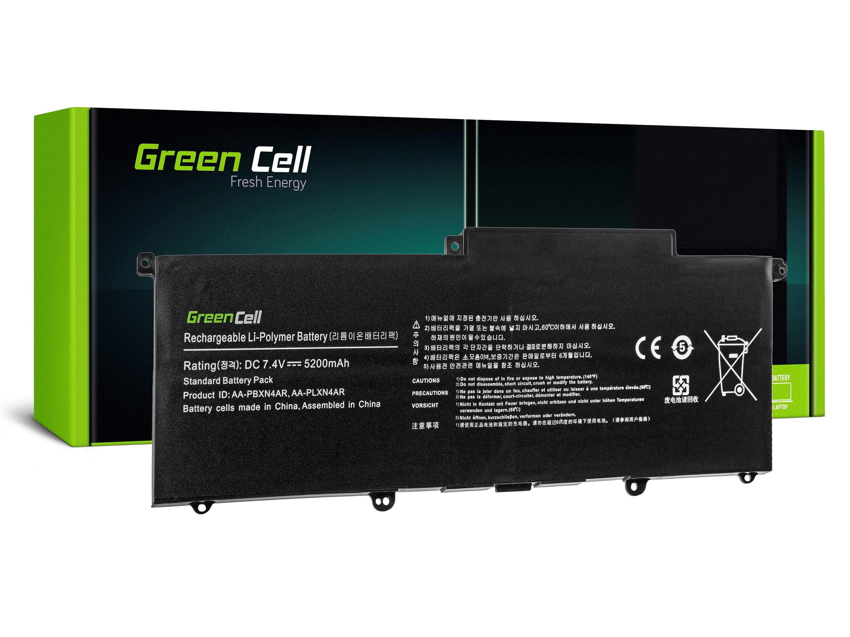 Green Cell SA18Z Baterie Samsung AA-PBXN4AR AA-PLXN4AR Samsung NP900X3B NP900X3C NP900X3D 4400mAh Li-Pol - neoriginální