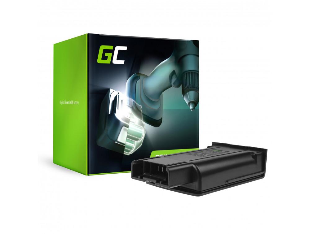 Green Cell Porszívó akkumulátor Karcher EB 30/1 7.2V 1500mAh