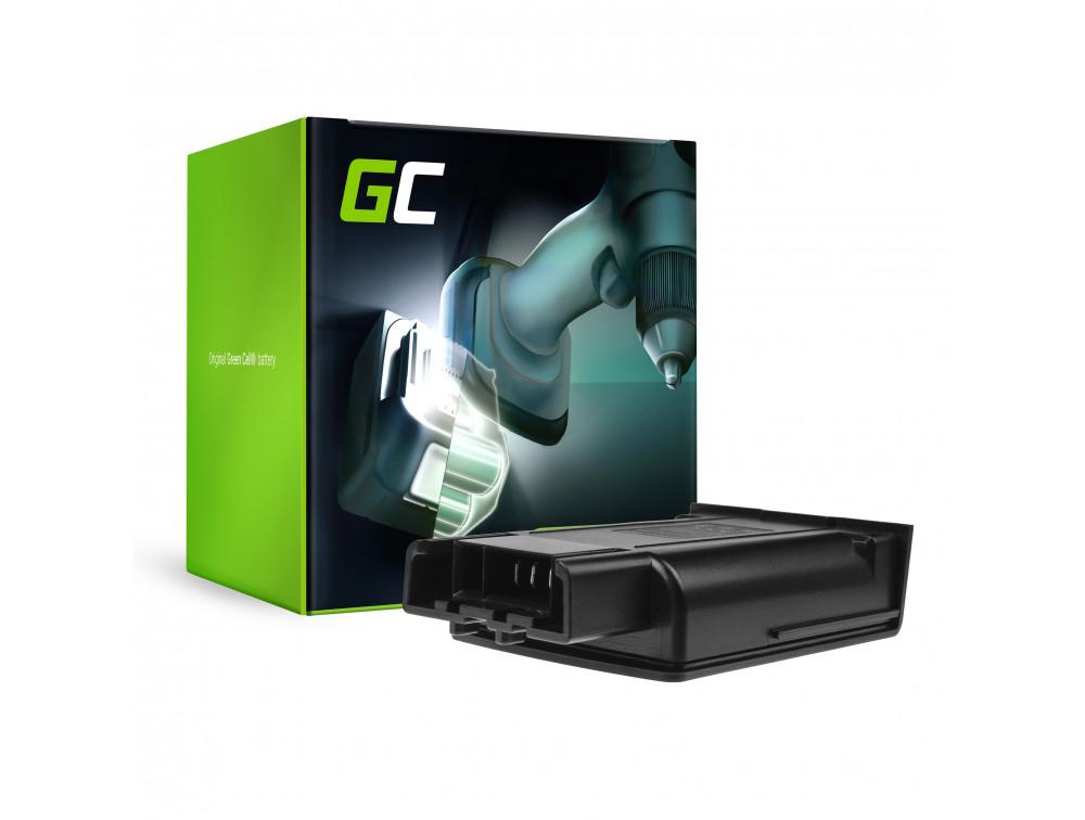 Green Cell Porszívó akkumulátor Karcher KM 35/5 C 1.5 Ah 18V