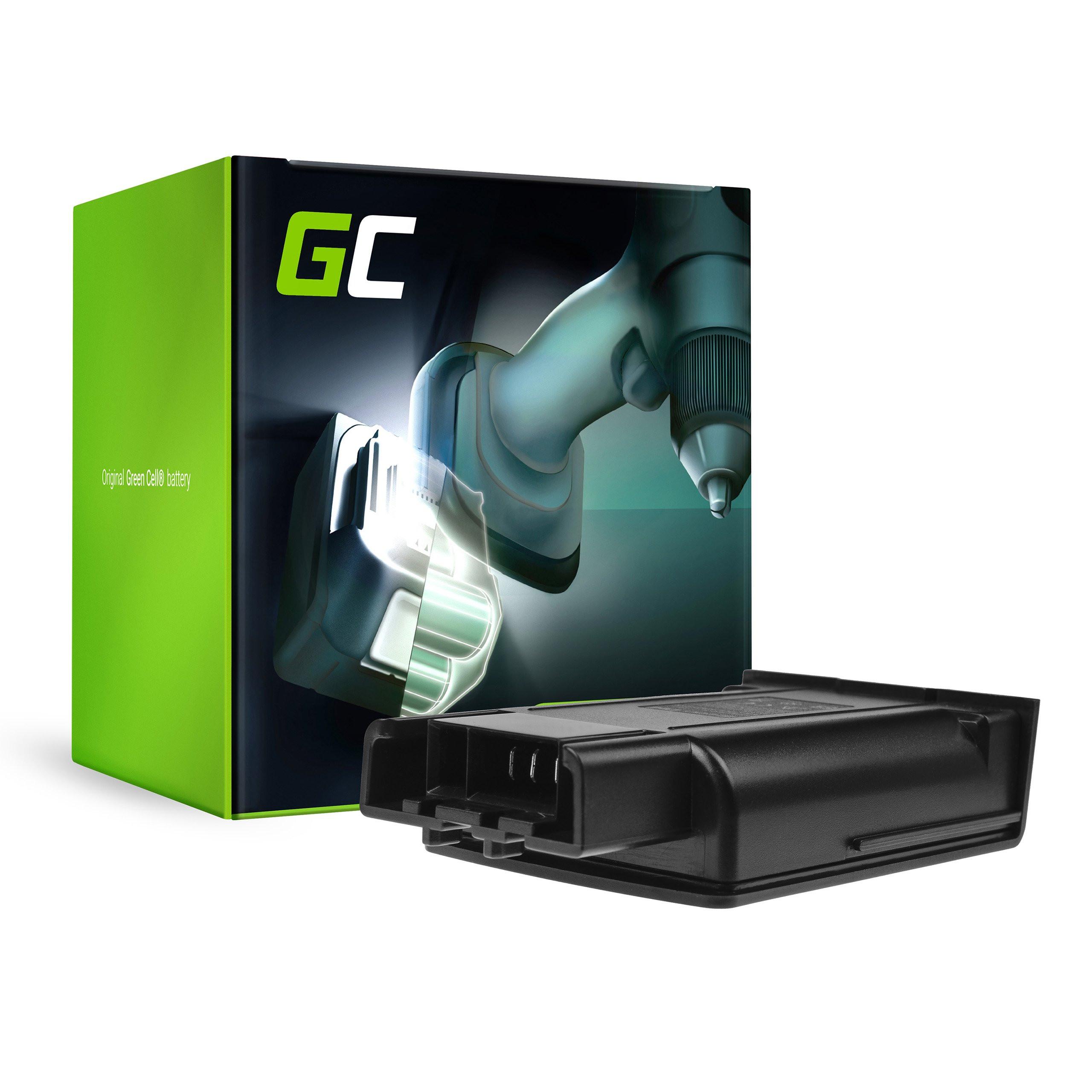 Green Cell Baterie pro Karcher KM 35/5 C 1.5 Ah 18V