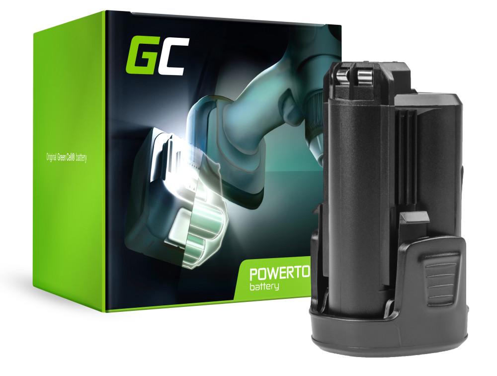 Green Cell Powertool akkumulátor Bosch PMF PSM PSR 10,8 LI-2 10.8V 1.5Ah