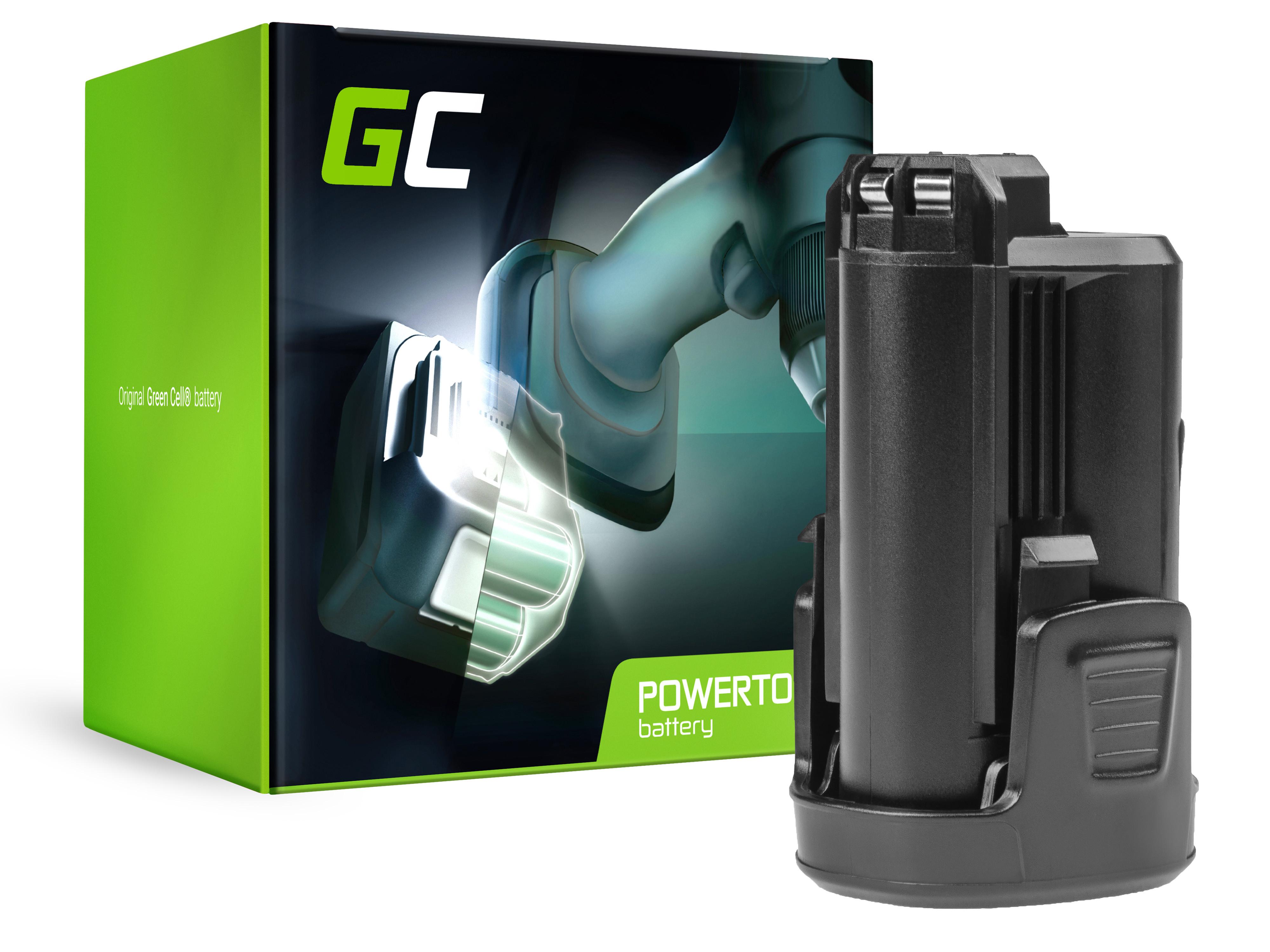 Baterie Green Cell Bosch PMF PSM PSR 10,8 LI-2 10.8V 1500mAh Li-ion - neoriginální