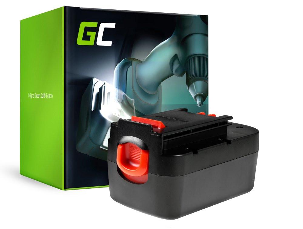 Green Cell PT86 Baterie Black&Decker A12 A1712 HPB12 FSB12,Black&Decker BD12PSK HP12K HPD1202 PS122K Firestorm FS1200D 3000mAh Ni-MH – neoriginální