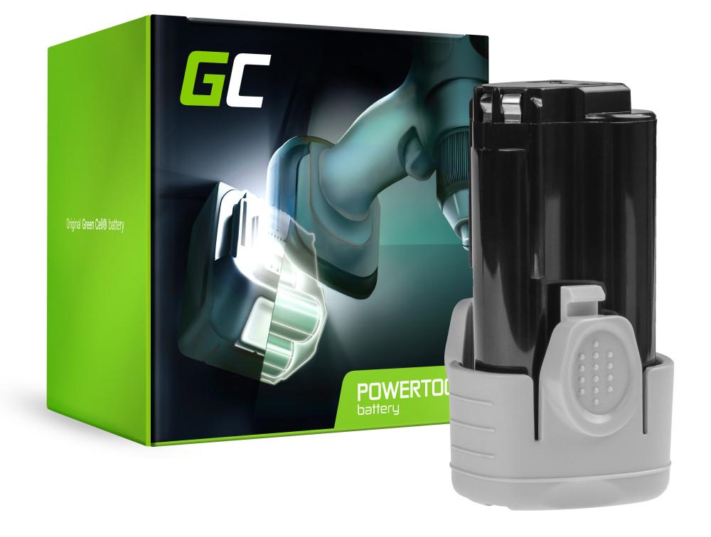 Green Cell Power Tool akkumulátor Black & Decker BL1110 BL1310 BL1510 BDCDMT112 10.8V 1.5Ah