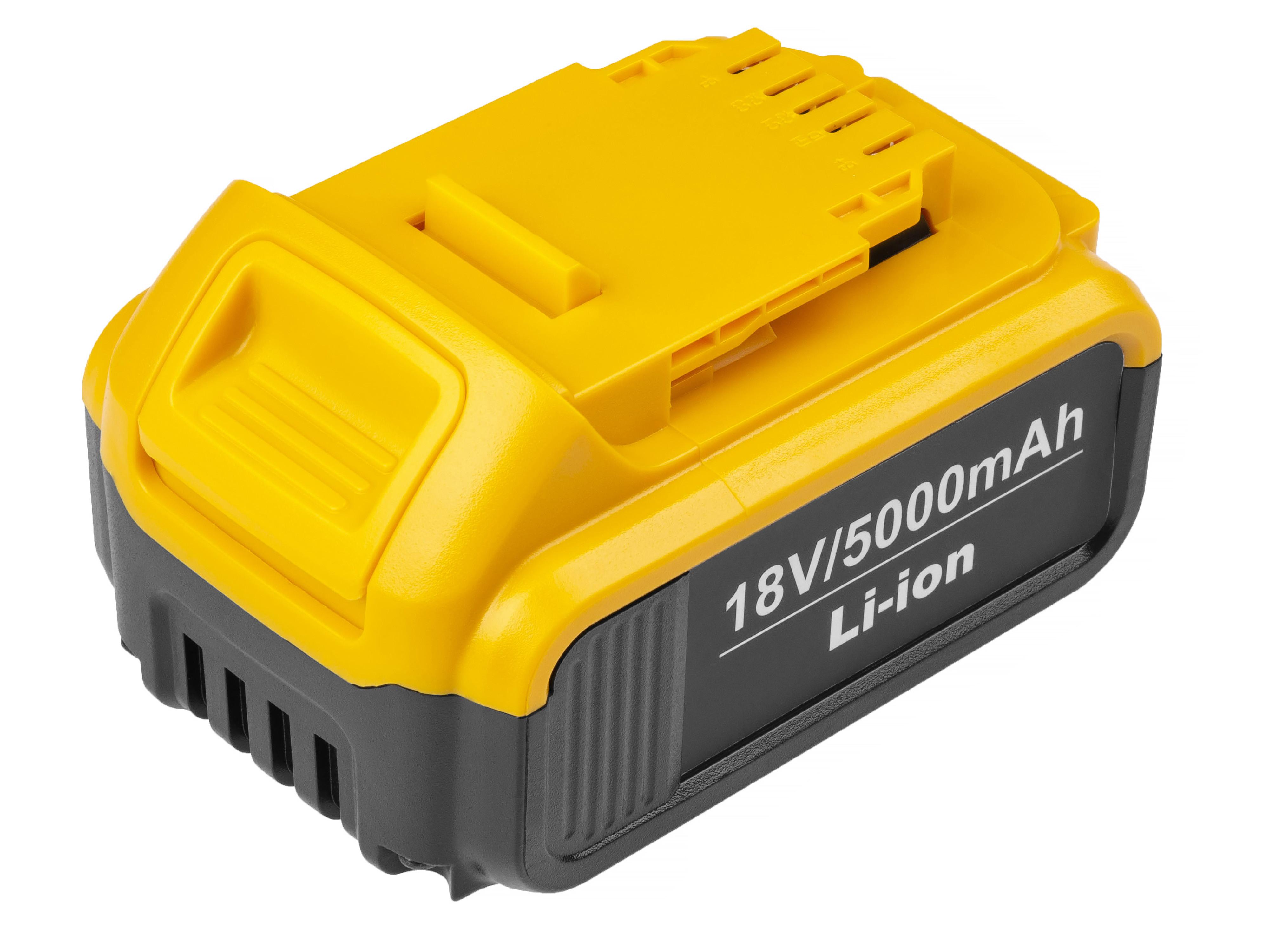 Baterie Green Cell Dewalt DCB184 DCB182 DCB180 18V 5000mAh Li-ion - neoriginální