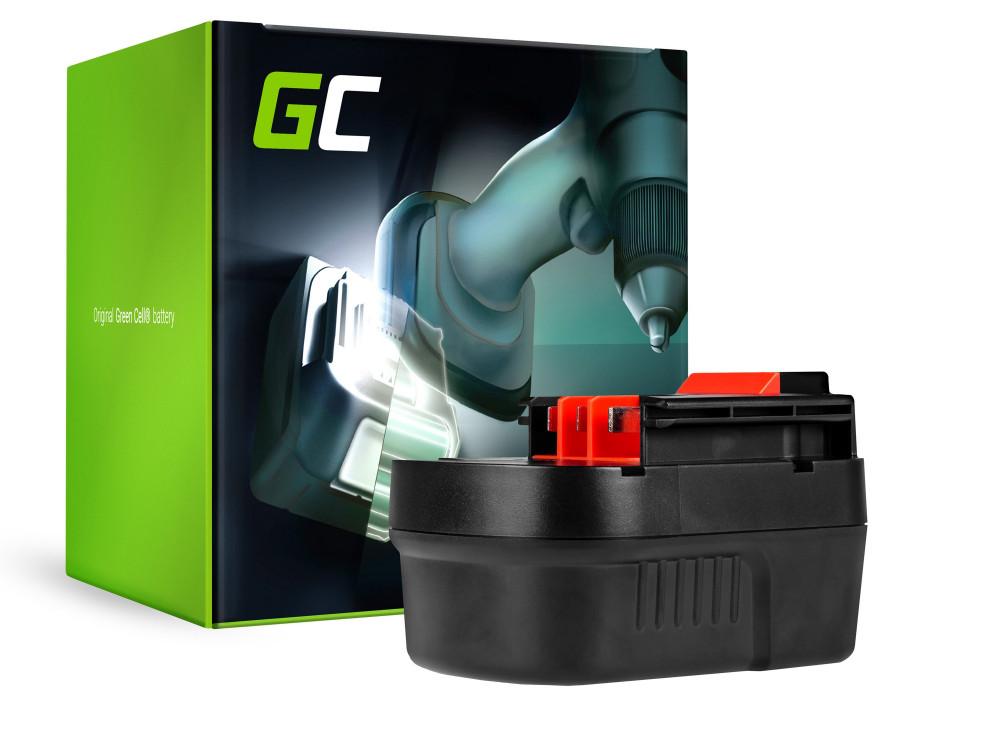 Green Cell Power Tool akkumulátor Black & Decker A1712 A12 HPB12 12V 2Ah