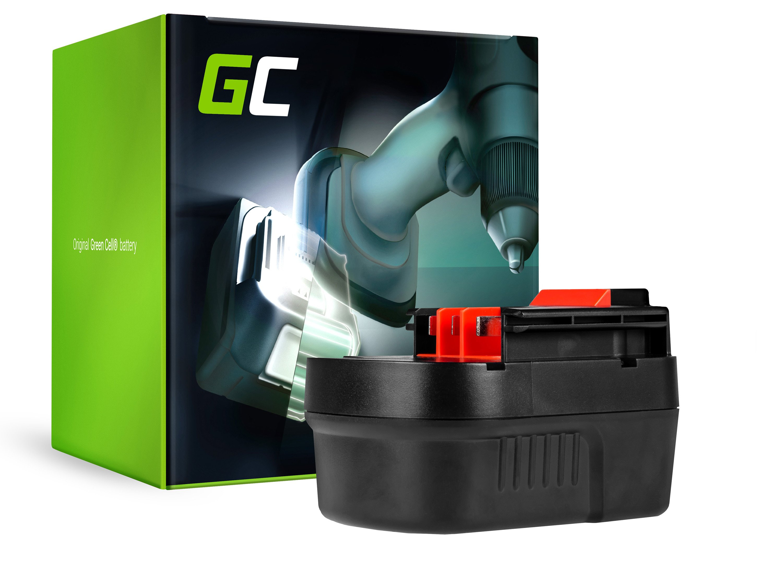 Green Cell Baterie Black&Decker A12 A1712 HPB12 12V 2Ah