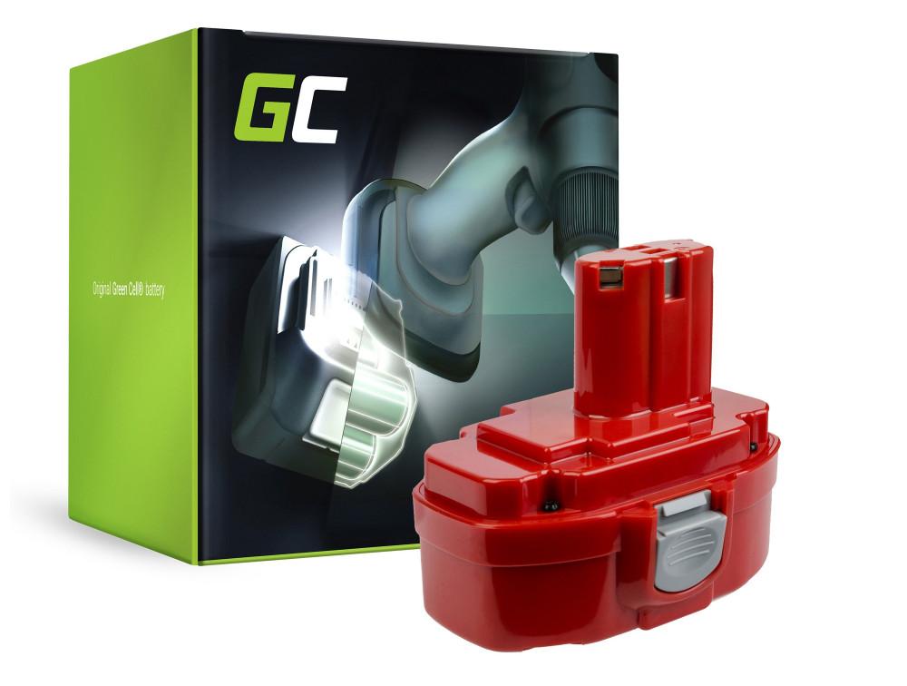 Green Cell Power Tool akkumulátor Makita 1815 1822 1835 192828-1 4334D 18V 3Ah