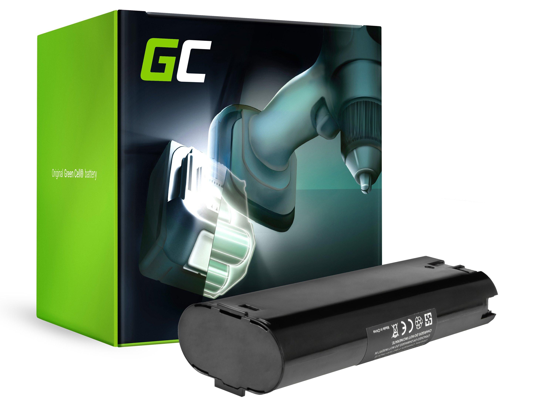 Baterie Green Cell AEG ABSE 10 ABE P7.2 7.2V 2500mAh Ni-MH – neoriginální