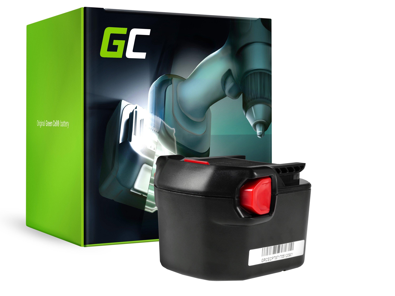 Baterie Green Cell AEG B1214G B1215R B1220R 12V 2000mAh Ni-MH – neoriginální