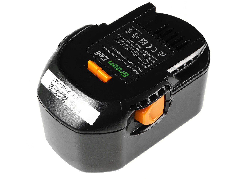 Baterie Green Cell  AEG BS 14 G BS 14 X 14.4V 3000mAh Ni-MH – neoriginální
