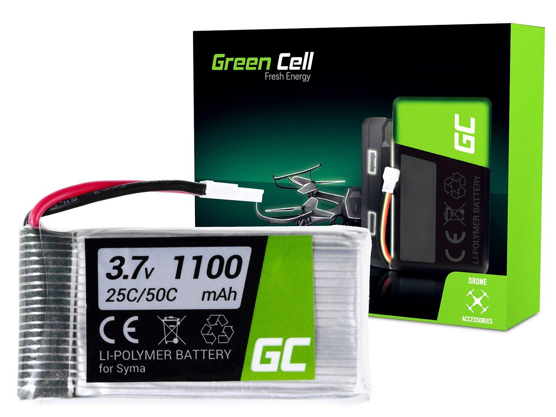 Green Cell RC Baterie pro Syma X5SC X5SW Explorers 3.7V 1100mAh
