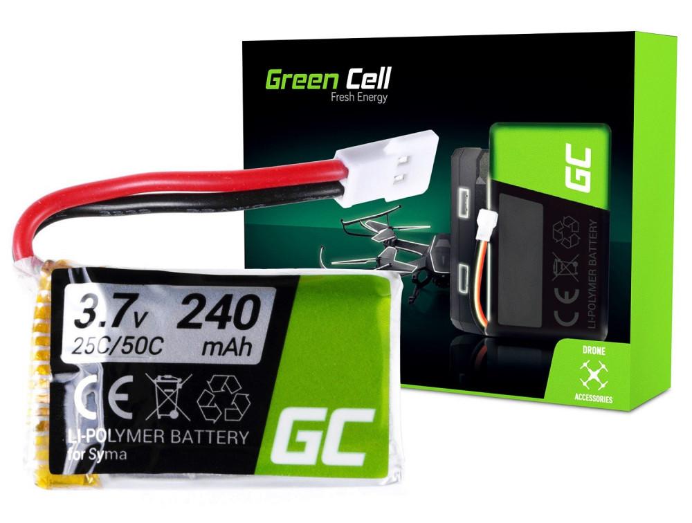 Green Cell RC akkumulátor Syma S026 S026G S105 S107 S108 S111 S108G 3.7V 240mAh