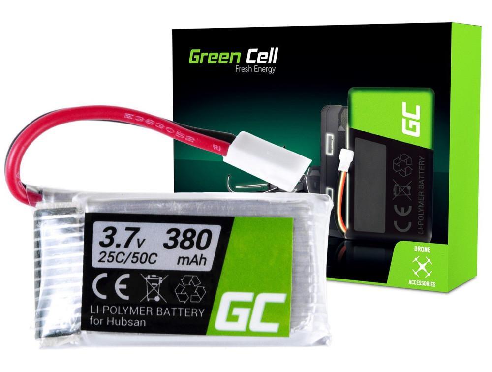 Green Cell RC akkumulátor Hubsan H107 H107C H107CHD H107L 3.7V 380mAh