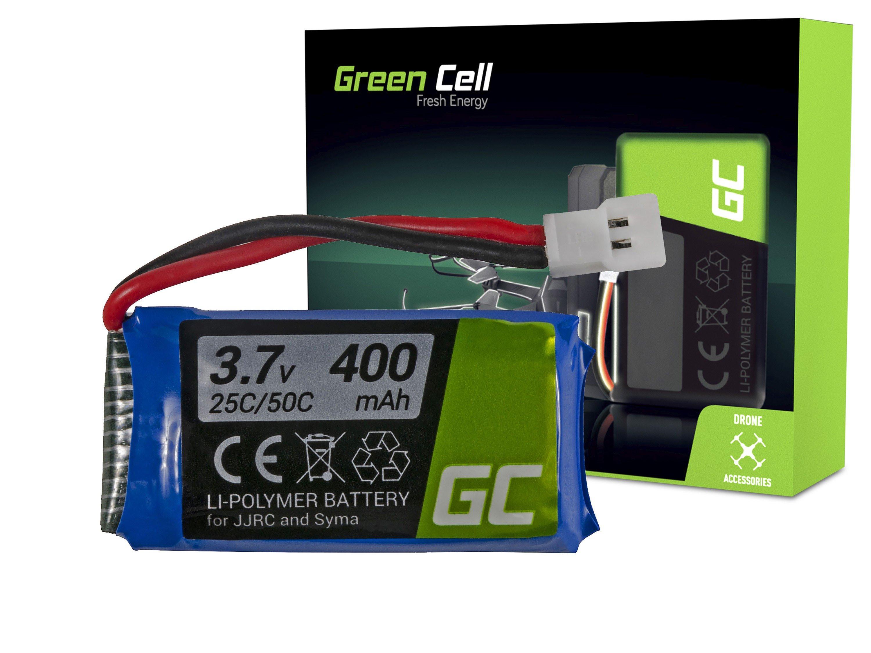 Baterie Green Cell JJRC H31 3.7V 400mAh Li-Pol – neoriginální