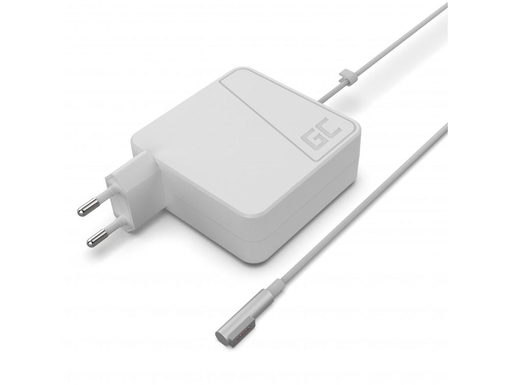 Green Cell töltő AC adapter Apple Macbook 60W / 16.5V 3.65A / MagSafe