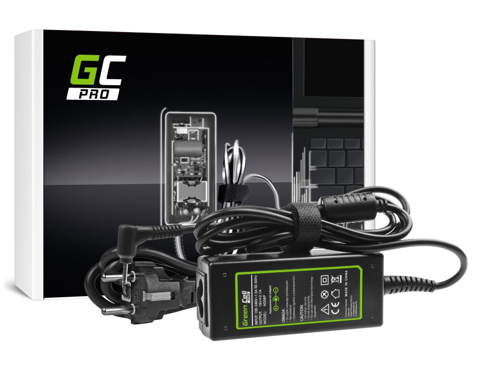 Green Cell PRO töltő AC adapter Asus Eee PC 1001PX 1001PXD 1005HA 1201HA 1201N 1215B 1215N X101 X101CH X101H 19V 2.1A 40