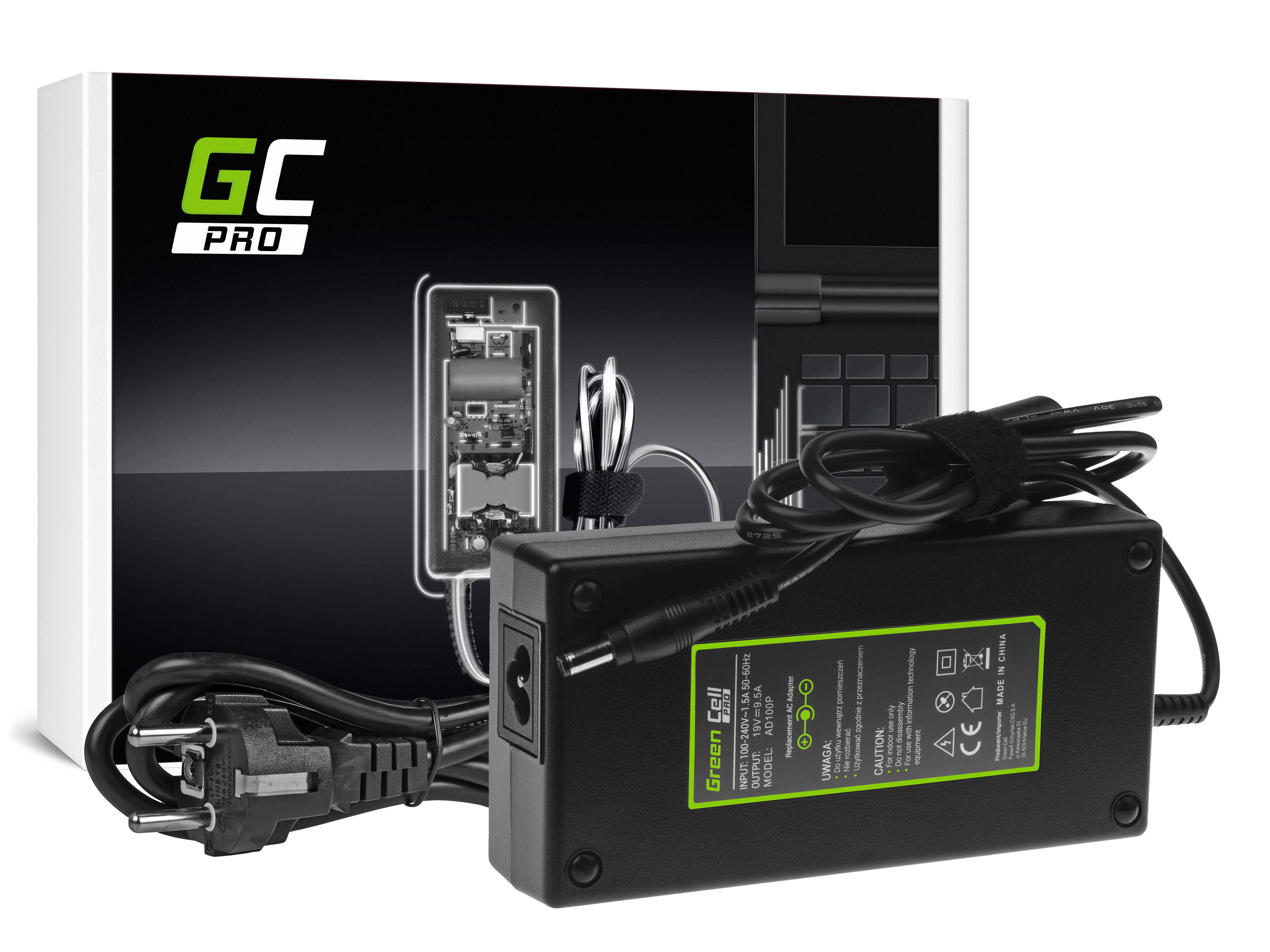 Green Cell AD100P Adaptér Nabíječka MSI GT60 GT70 GT680 GT683 Asus ROG G75 G75V G75VW G750JM G750JS 19V 9.5A 180W