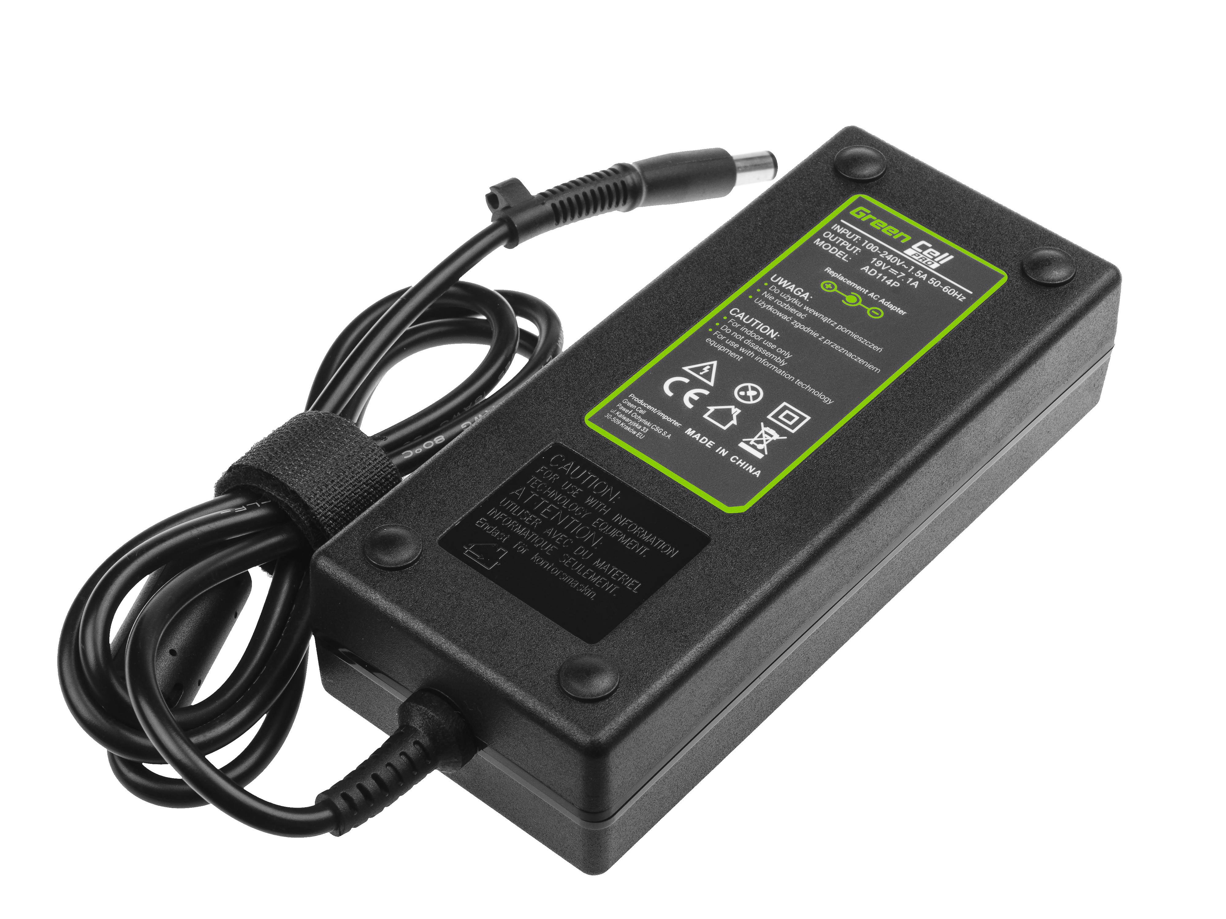 Green Cell AD114P Adaptér Nabíječka HP Compaq 6710b 6715b 6715s 6910p 8510p nc6400 nx6110 nx7300 nx7400 19V 7.1A 135W