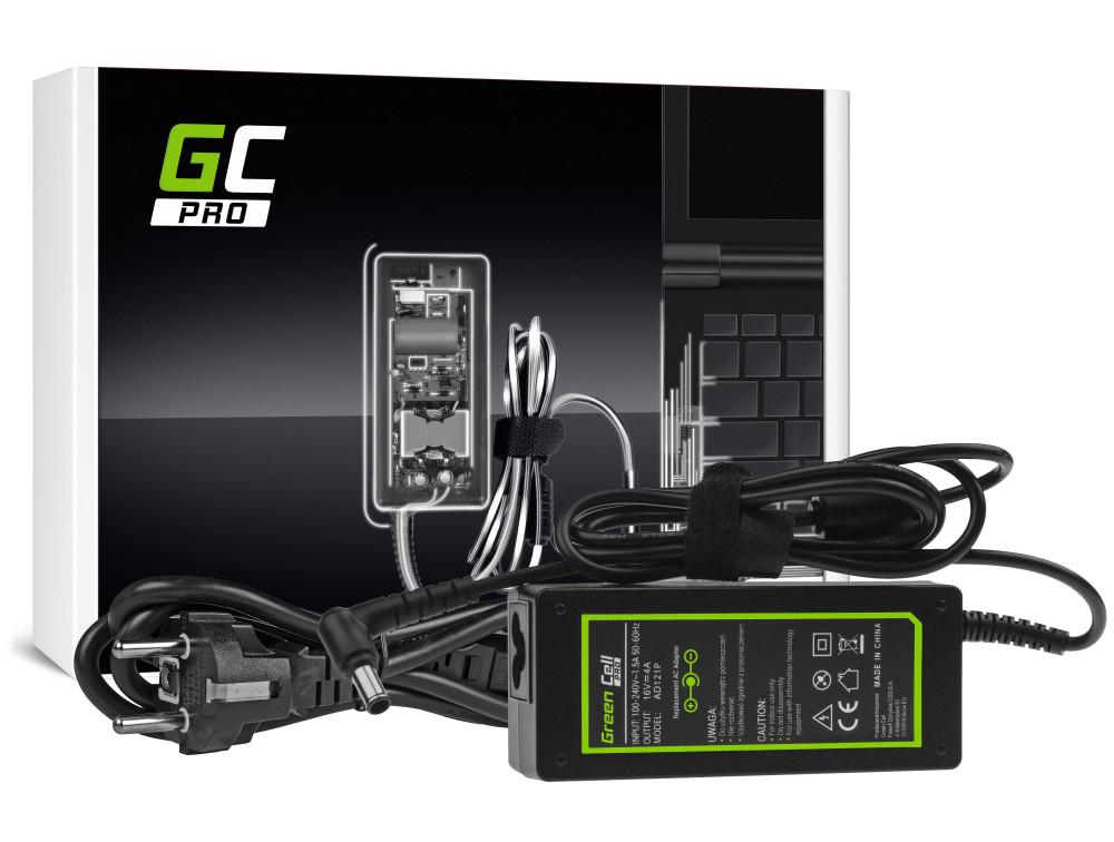 Green Cell PRO töltő AC adapter Sony Vaio PCG-R505 VGN-B VGN-S VGN-S360 VGN-T VGN-UX VGN-UX380N 16V 4A 64W