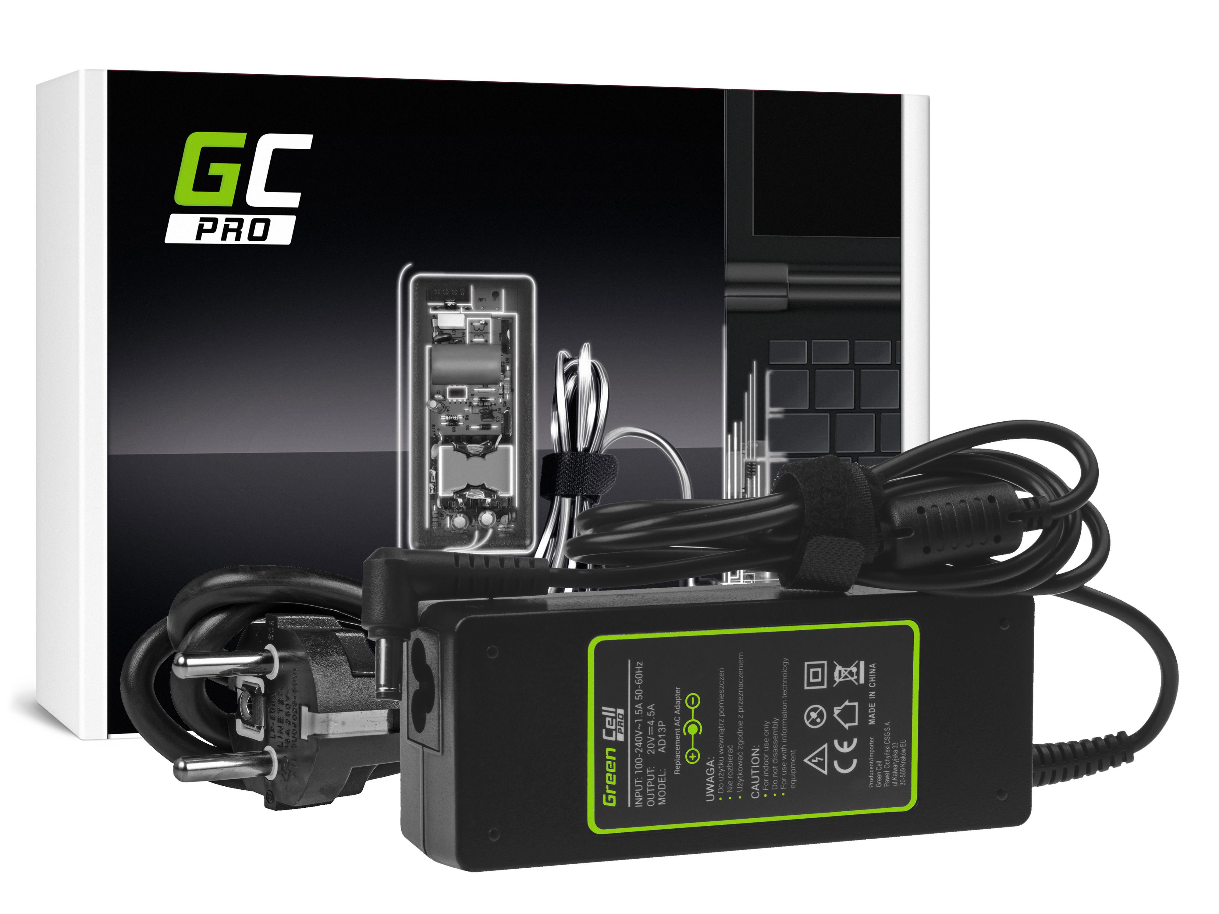 Green Cell AD13P Adaptér Nabíječka Lenovo B570 G550 G570 G575 G770 G780 G580 G585 IdeaPad P580 Z510 Z580 Z585 20V 4.5A 90W