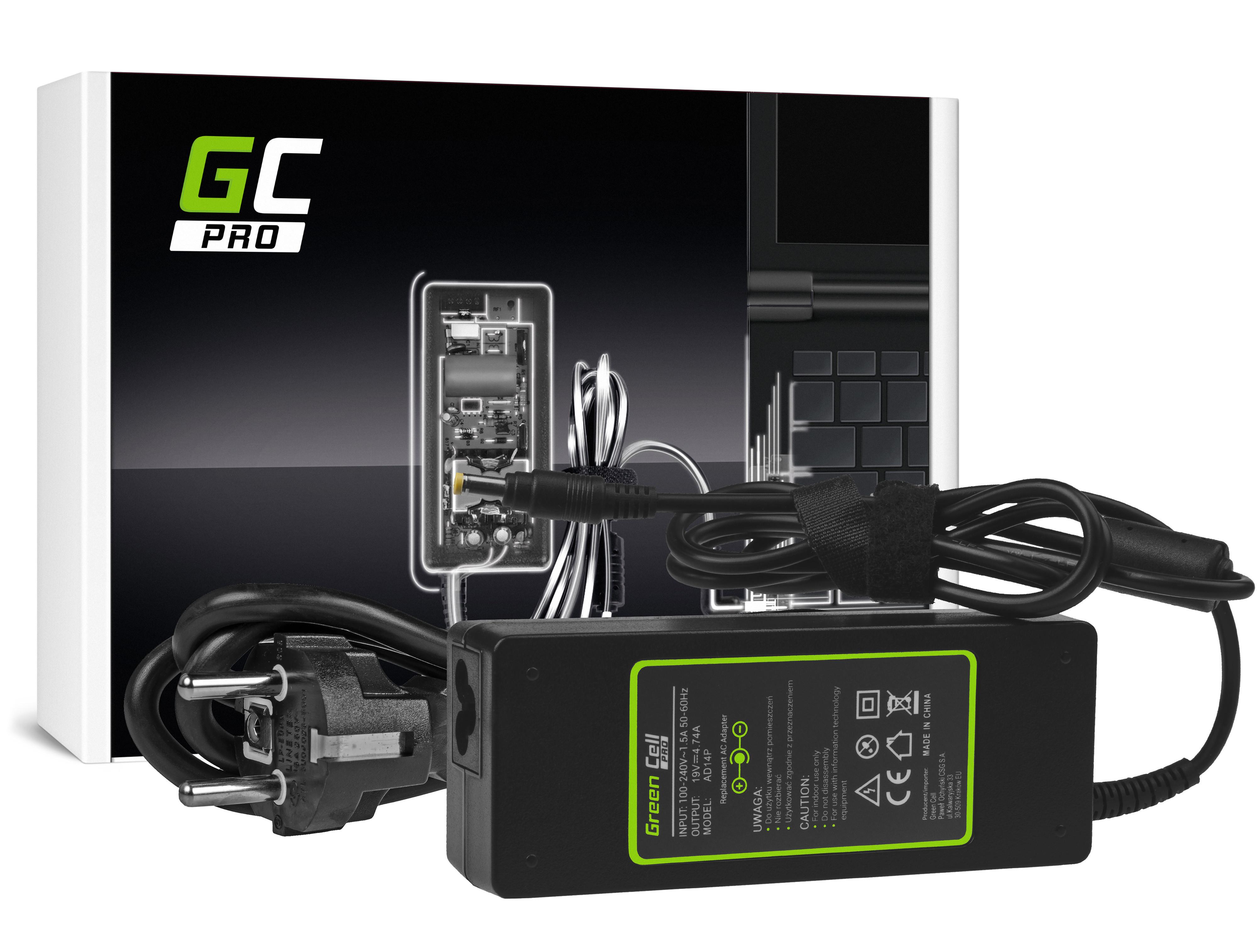 Green Cell AD14P Adaptér Nabíječka HP Pavilion DV6500 DV6700 DV9000 DV9500 Compaq 6720s 6730b 6820s 4.74A 90W