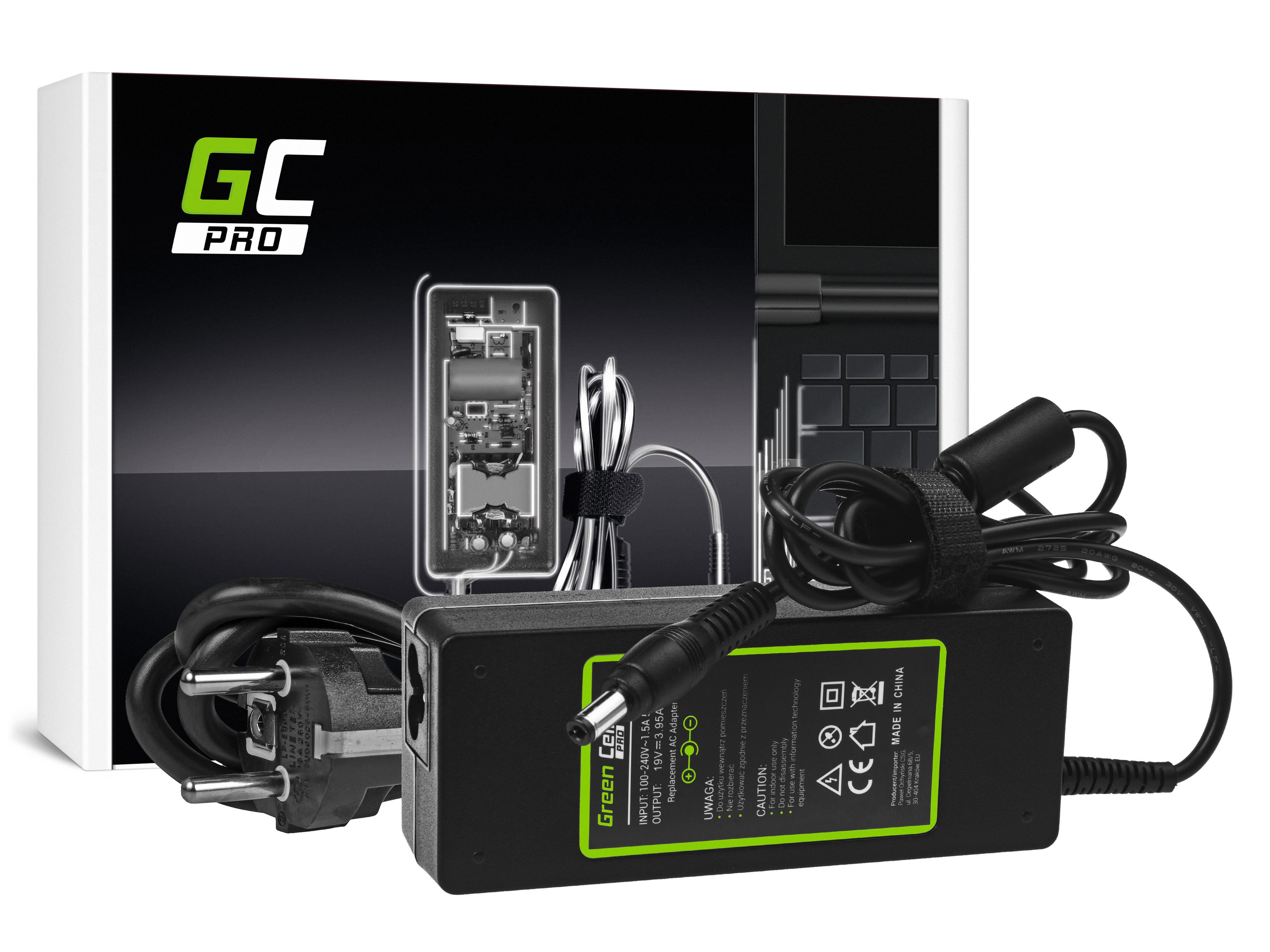 Green Cell AD26AP Adaptér Nabíječka Toshiba Asus 19V 3.95A 75W 5.5mm 2.5mm