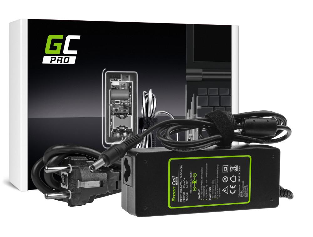 Green Cell PRO töltő AC adapter Toshiba Tecra A10 A11 M11 P100 Satellite A100 Pro S500 15V 5A 75W