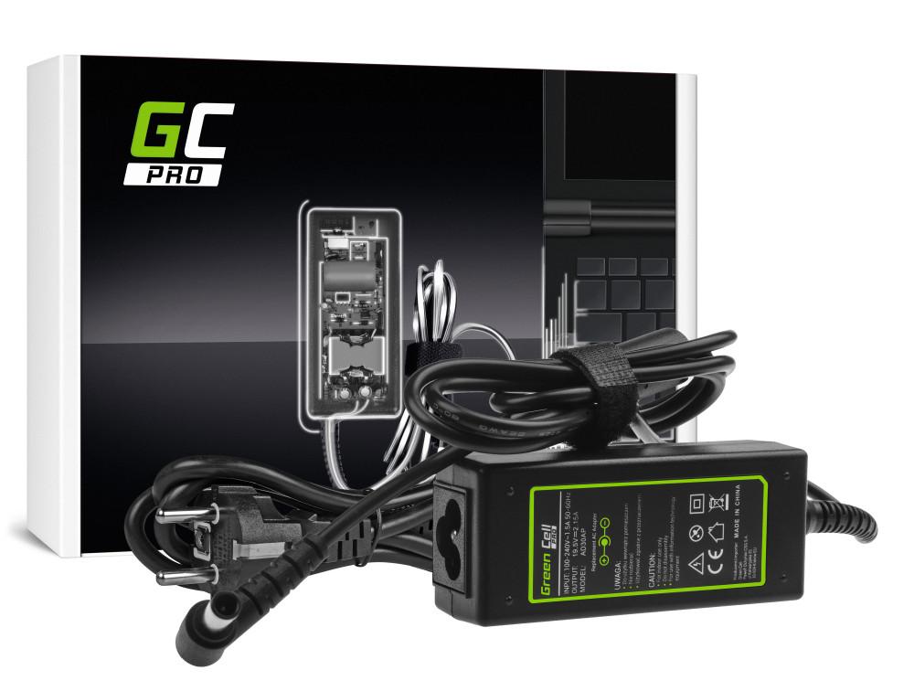 Green Cell PRO töltő AC adapter Sony Vaio W11 W12 PCG-31311M PCG-31311L VPCYB1S1E VPCYB3V1E 19.5V 2.15A 40W