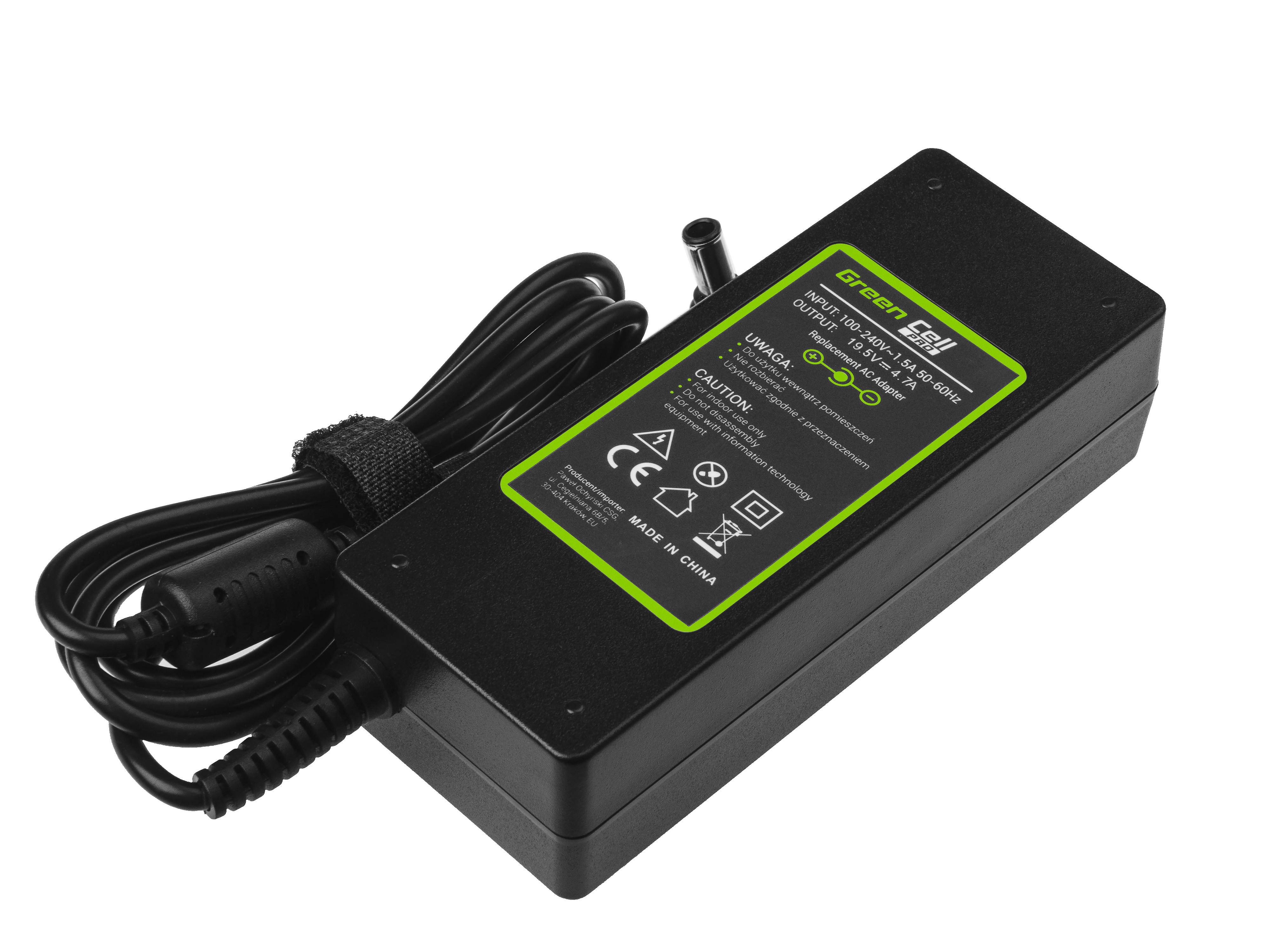 Green Cell AD31P Nabíječka Adaptér pro Sony Vaio PCG-71211M PCG-71811M 14 15E 19.5V 4.7A 90W