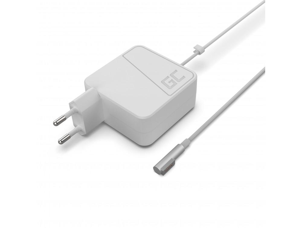 Green Cell töltő AC adapter Apple Macbook 45W / 14.5V 3.1A / MagSafe