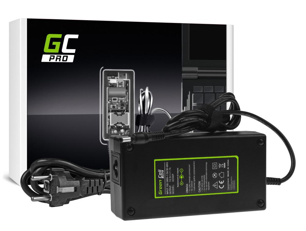 Green Cell PRO töltő AC adapter Asus G550 G551 G73 N751 MSI GE60 GE62 GE70 GP60 gp70 GS70 PE60 PE70 19.5V 7.7A 150W