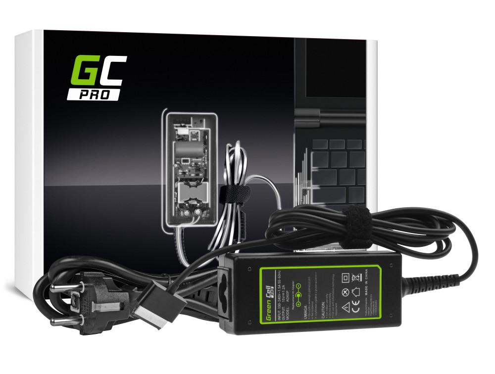 Green Cell PRO töltő AC adapter Asus Eee Pad Transformer TF101 TF201 TF300 TF300T TF300TG 15V 1.2A 18W