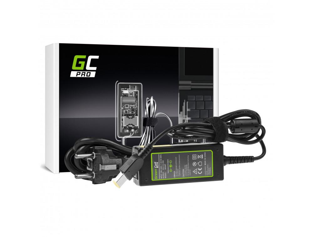 AC adapter Green Cell PRO 20V 2.25A 45W Lenovo G50-30 G50-70 G505 Z50-70 ThinkPad T440 T450 IdeaPad S210