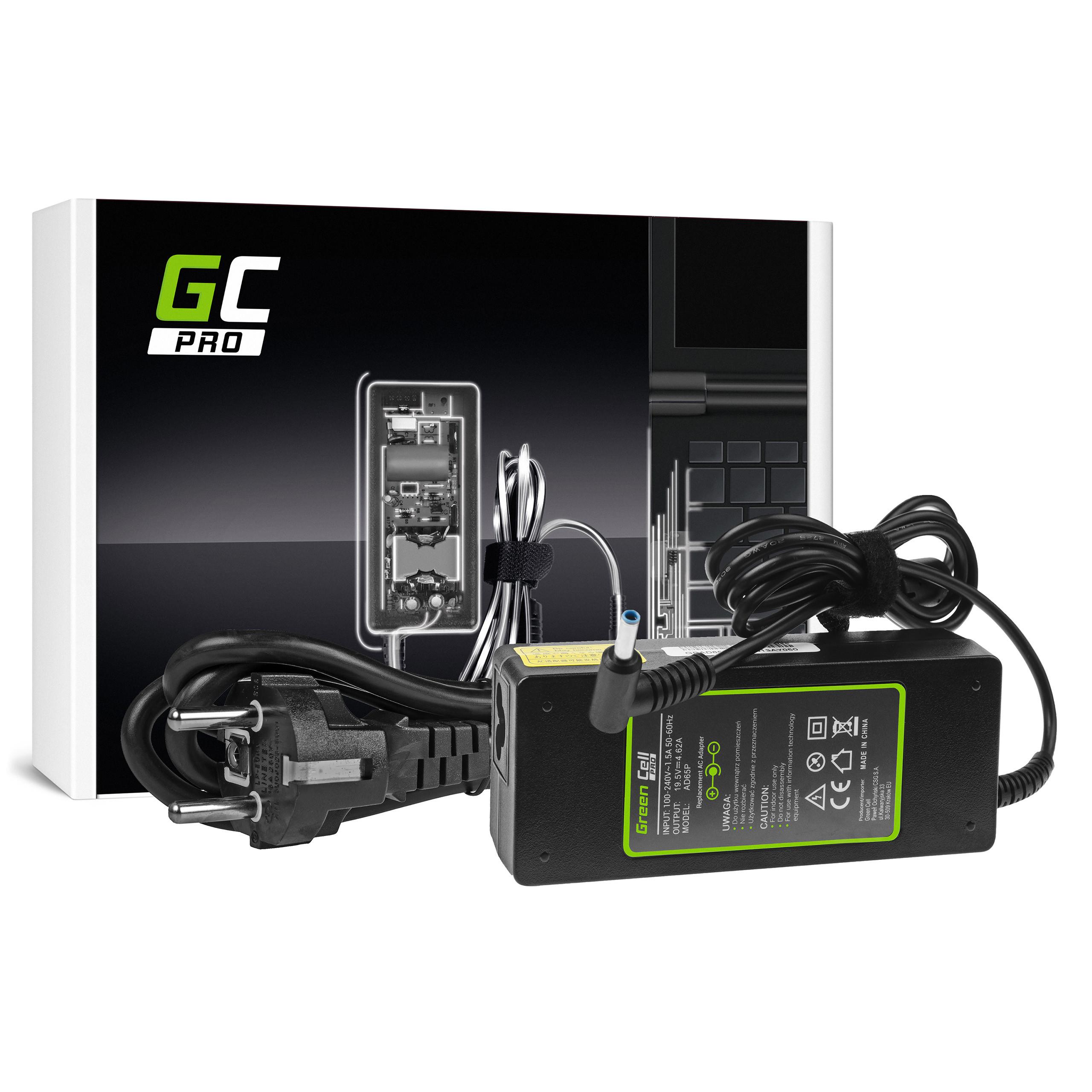 Zasilacz Ładowarka Green Cell PRO 19.5V 4.62A 90W do HP 250 G2 ProBook 650 G2 G3 Pavilion 15-N 15-N025SW 15-N065SW 15-N070SW