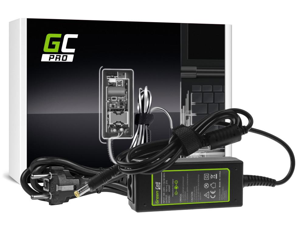 Green Cell PRO töltő AC adapter Acer Aspire E5-511 E5-521 E5-573 E5-573G ES1-131 ES1-512 ES1-531 V5-171 19V 2.37A 45W