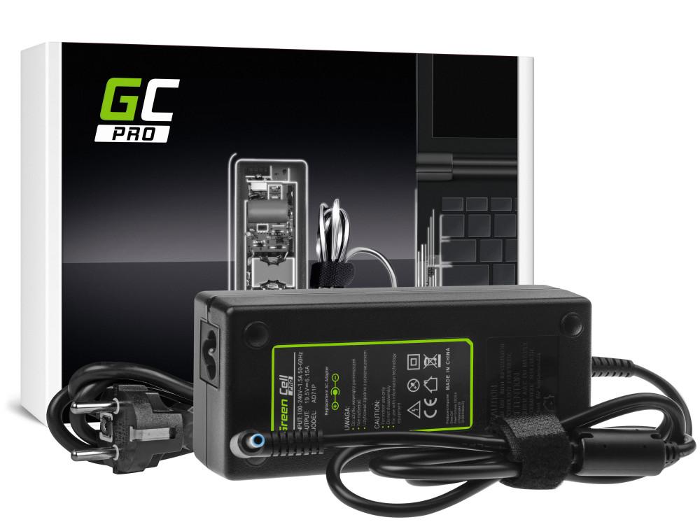 Green Cell PRO töltő AC adapter HP Omen 15-5000 17-W HP Envy 15-J 17-J 19.5V 6.15A 120W