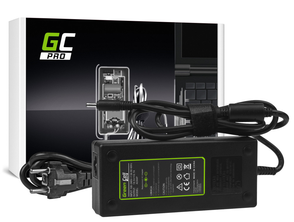 Green Cell PRO töltő AC adapter Dell XPS 15 9530 9550 9560 15 5510 5520 Precision M3800 19.5V 6.7A 130W