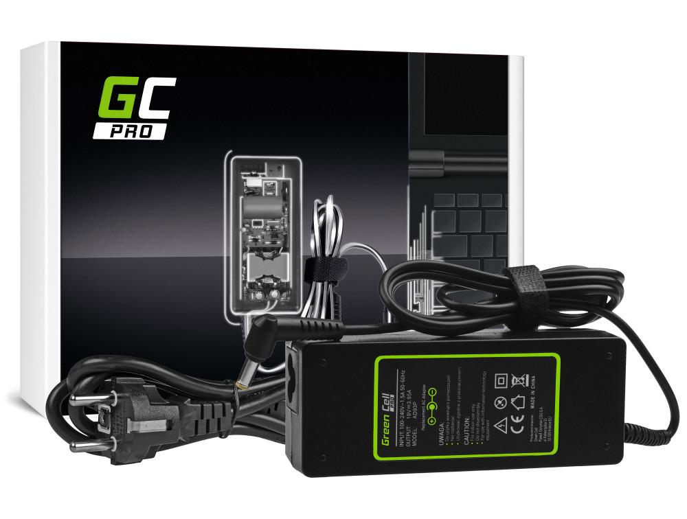 Green Cell PRO töltő AC adapter Acer Aspire 5220 5315 5520 5620 5738G 7520 7720 19V 3.95A 75W