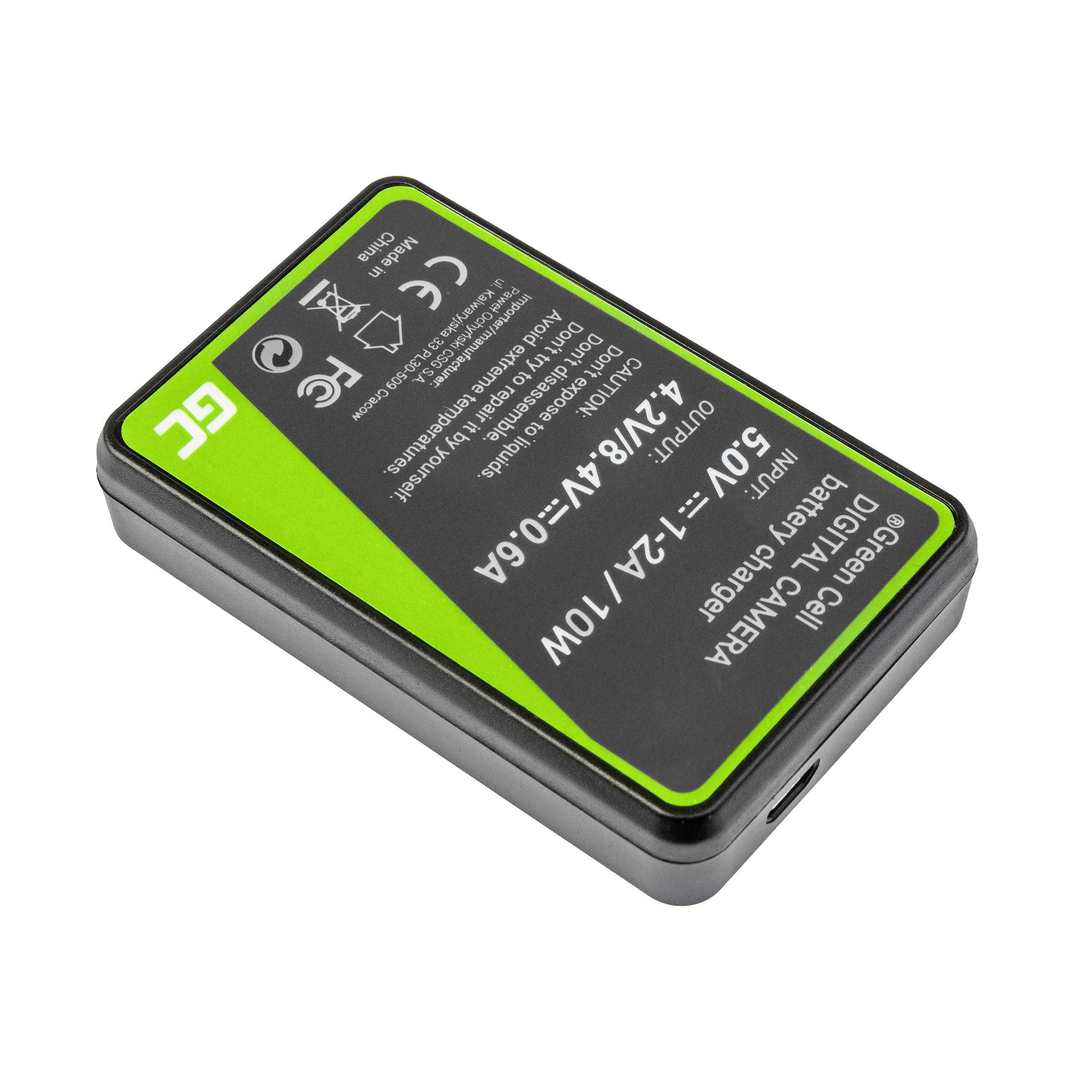 Green Cell Nabíječka BC-TRX pro Sony Action Cam HDR-AS10 HDR-AS20 HDR-AS300 HDR-AS50 FDR-X1000V DSC-H400