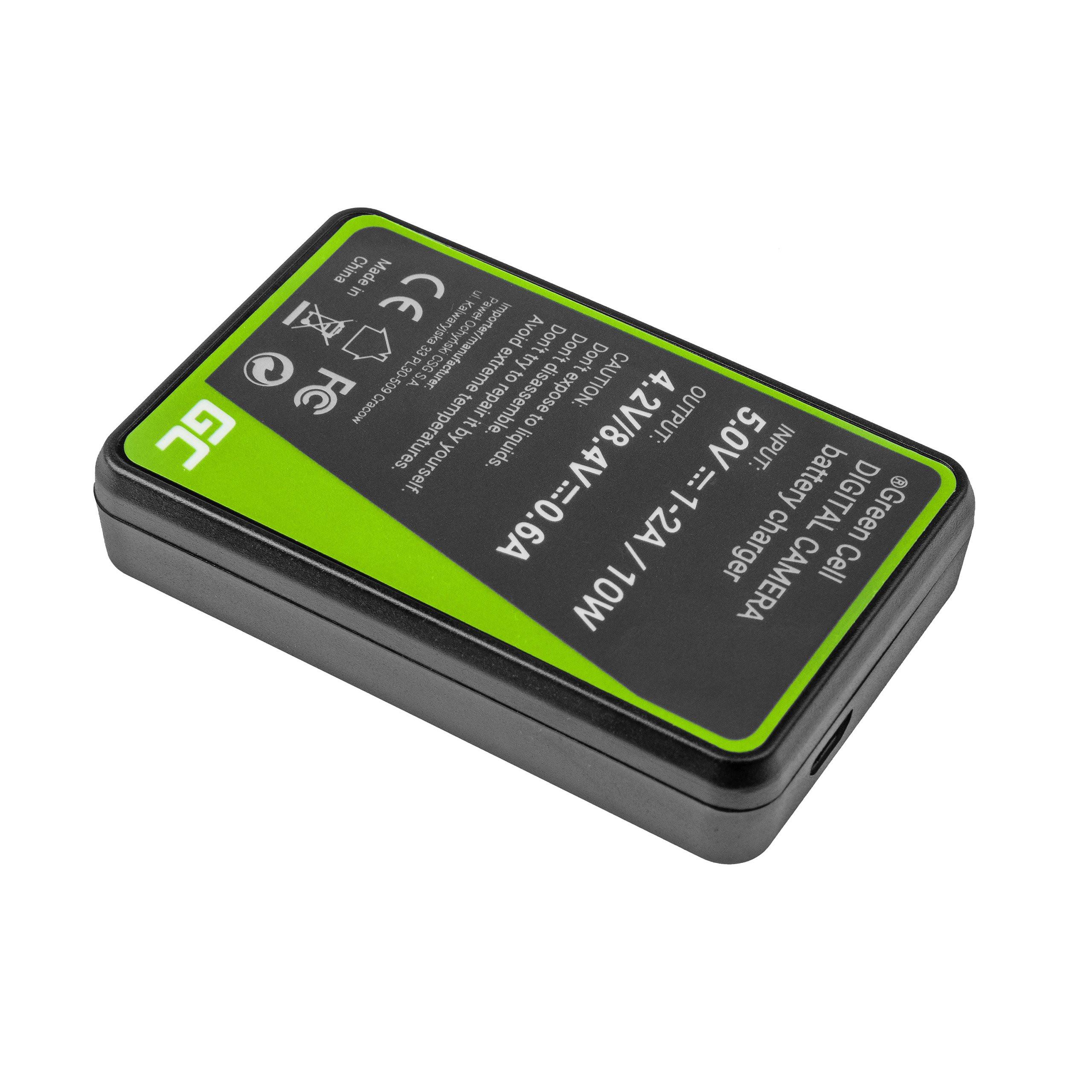 Green Cell Nabíječka BC-TRP pro Sony NP-FH50 DCR-HC45, DCR-SR300E, DCR-SR70, DCR-SX50E