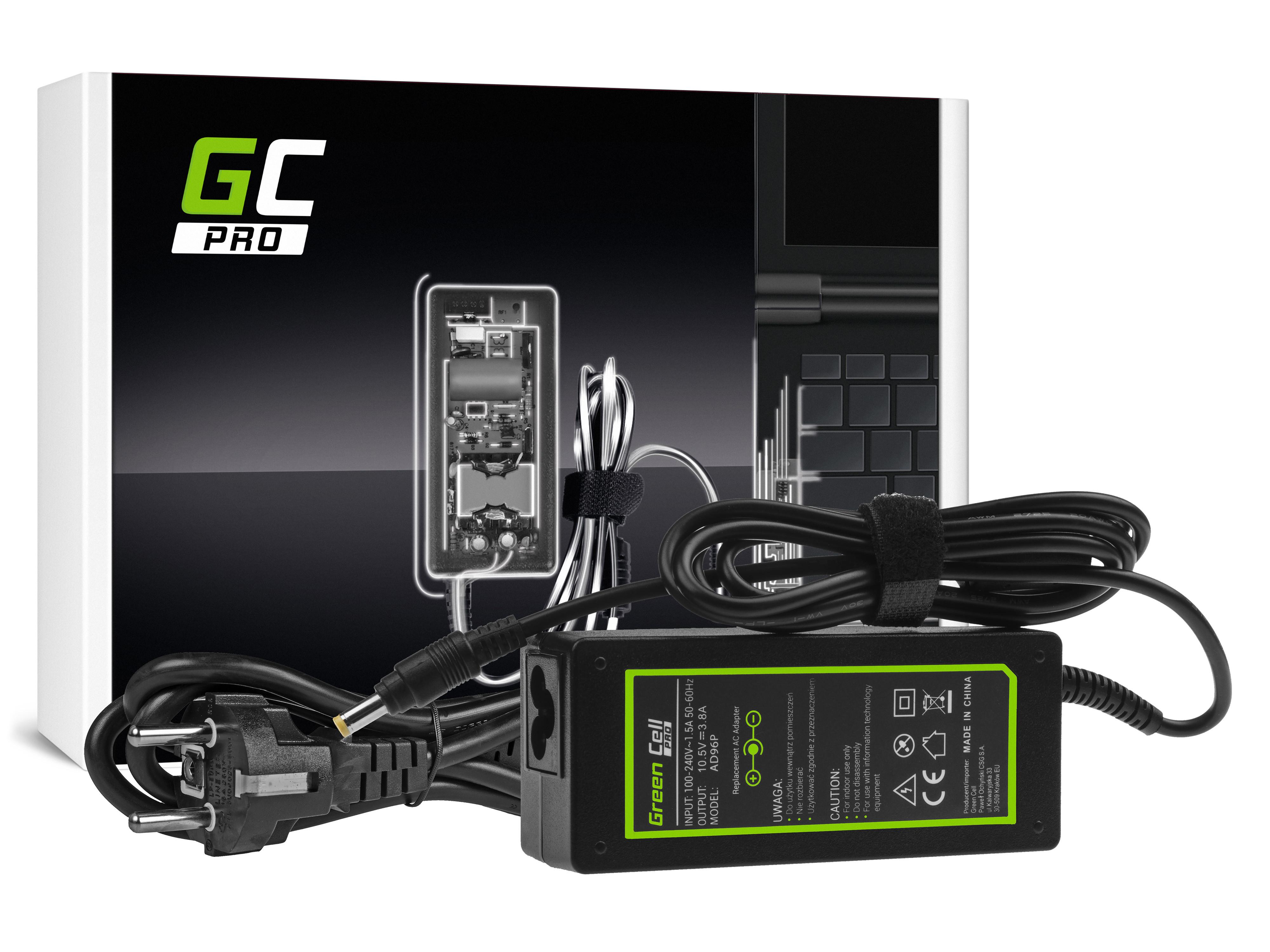 Green Cell AD96P Adaptér Sony VGP-AC10V10 pro Sony Vaio S13 SVS13, Sony Vaio Pro 11 13, Sony Vaio Duo 11 13 | 10.5V 3.8A 40W | konektor 4.8mm-1.7mm